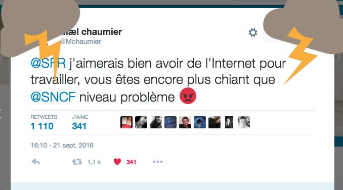 Les community manager de SFR et de la SNCF se trollent dans un twitter clash hilarant