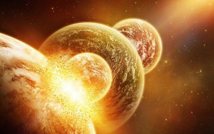La Lune serait née de l'explosion d'un large pan de la Terre