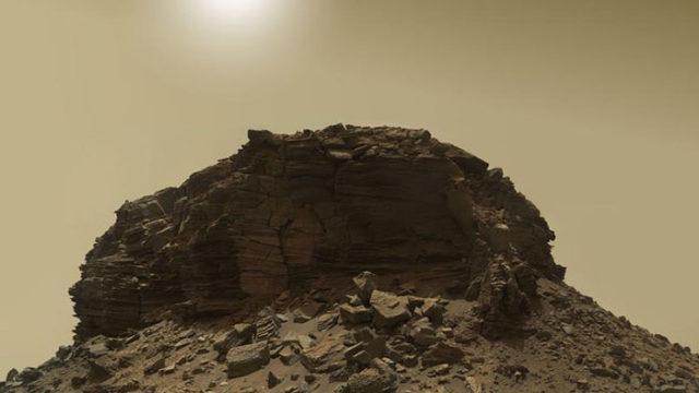 Mars : Curiosity envoie une série de photos dignes du far-west américain