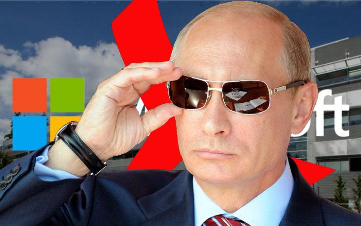 """Microsoft : la Russie veut du """"made in Russia"""" au lieu de Windows, Office et Exchange"""