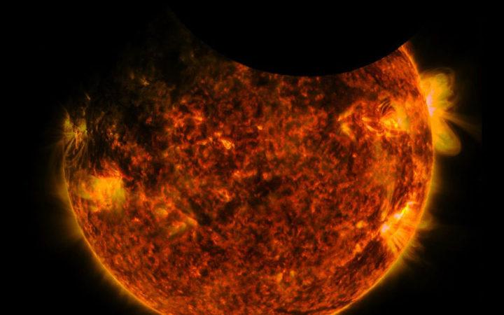 nasa double eclipse solaire