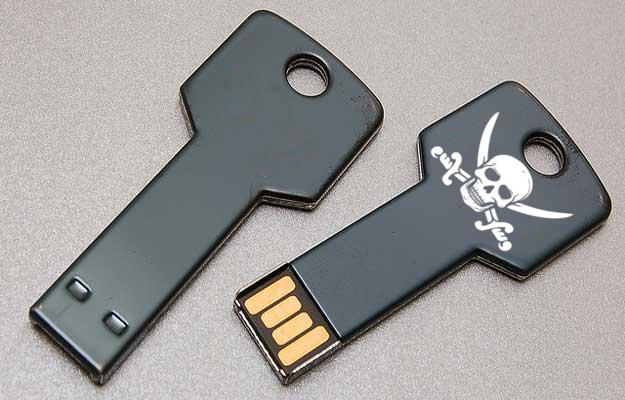 Piratage : méfiez-vous des clés USB trouvées par terre ou dans votre boîte aux lettres