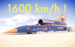 Record de vitesse : des ingénieurs fous veulent rouler à 1600 km/h