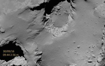 La sonde Rosetta s'est écrasée sur sa comète, les images de la descente