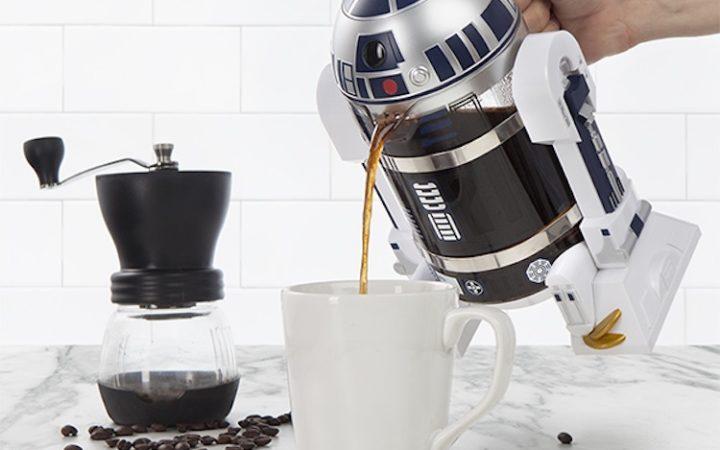 Star Wars : cette cafetière R2D2 va vous réveiller en douceur