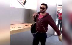 Vidéo : l'Apple Store de Dijon massacré à la boule de pétanque