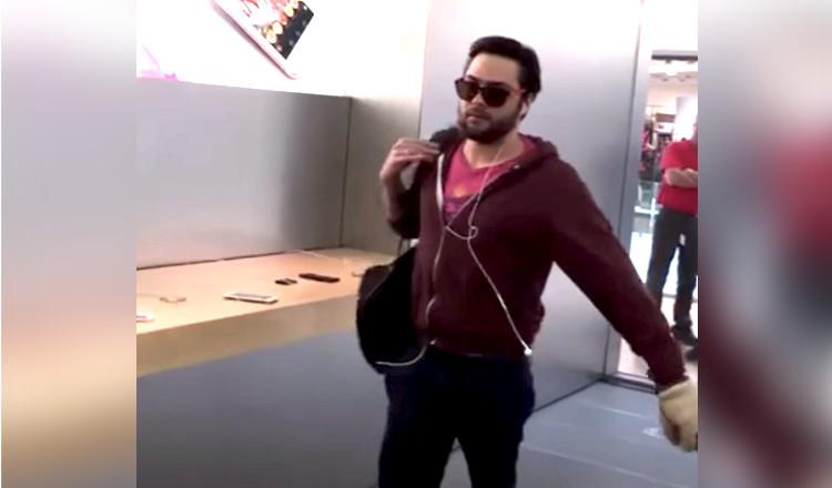 Vidéo : il massacre l'Apple Store de Dijon à la boule de pétanque