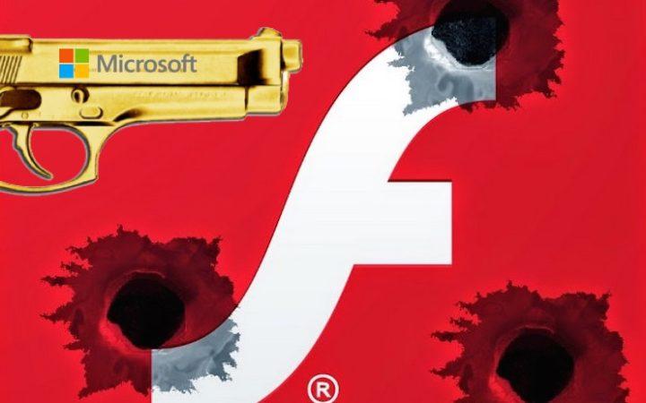 Windows 7 empêchera bientôt l'affichage de certains contenus Flash Player