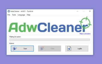 AdwCleaner : comment supprimer les barres d'outils et logiciels publicitaires