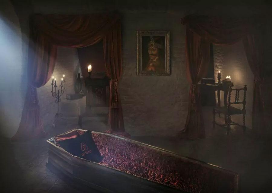 airbnb chateau dracula