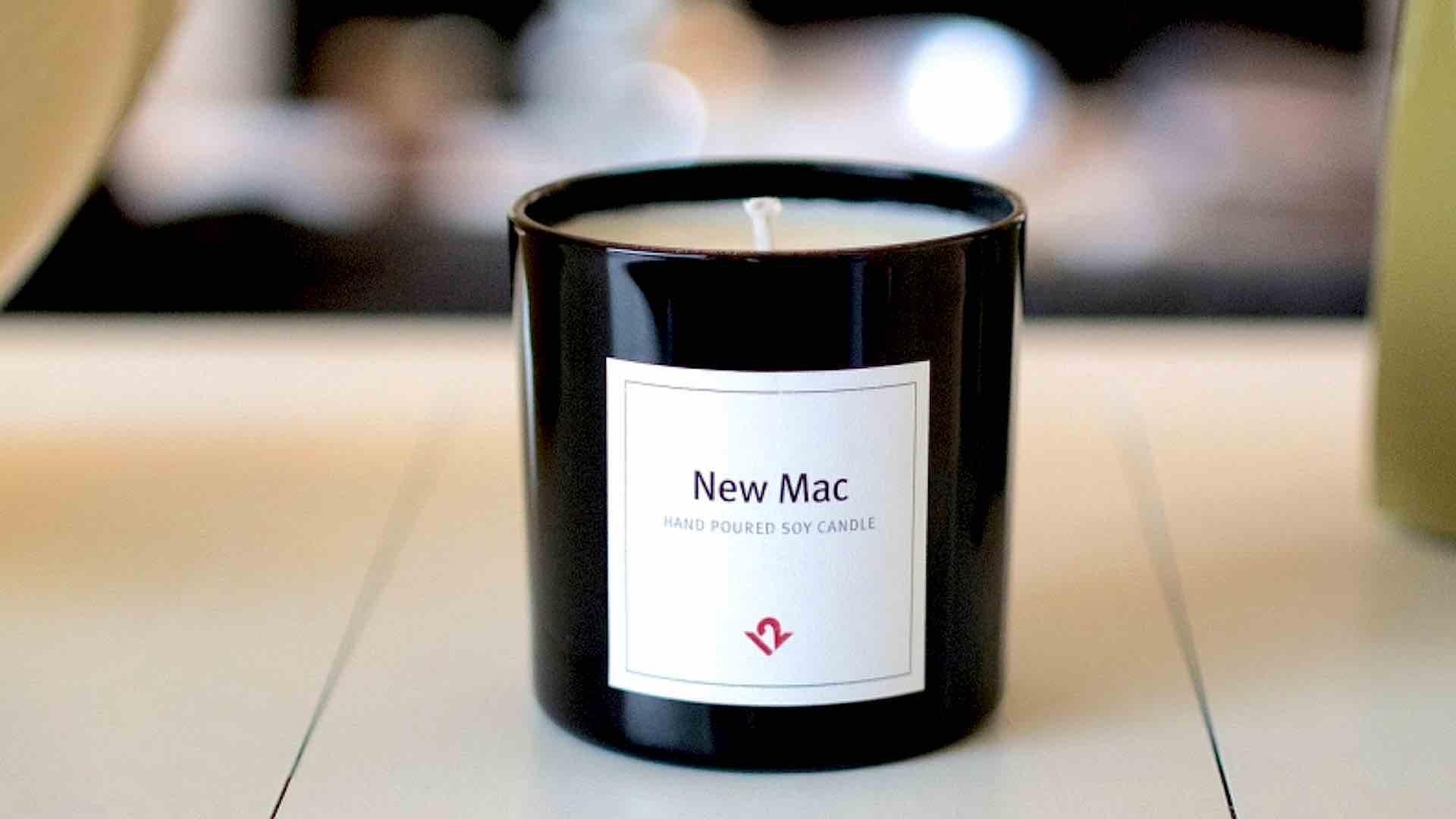 Apple : l'odeur de MacBook Pro et d'iPhone neufs existe en bougie parfumée