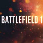 battlefield 1 fond ecran