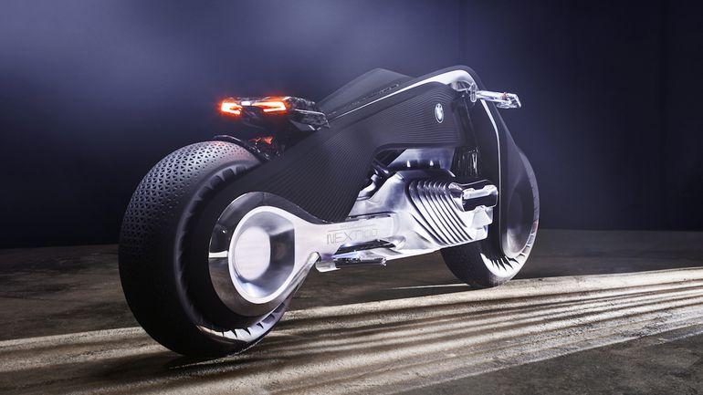 BMW dévoile une moto plus sûre qu'une voiture au design ahurissant