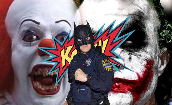 Etats-Unis : la police recrute Batman pour en finir avec l'épidémie de clowns