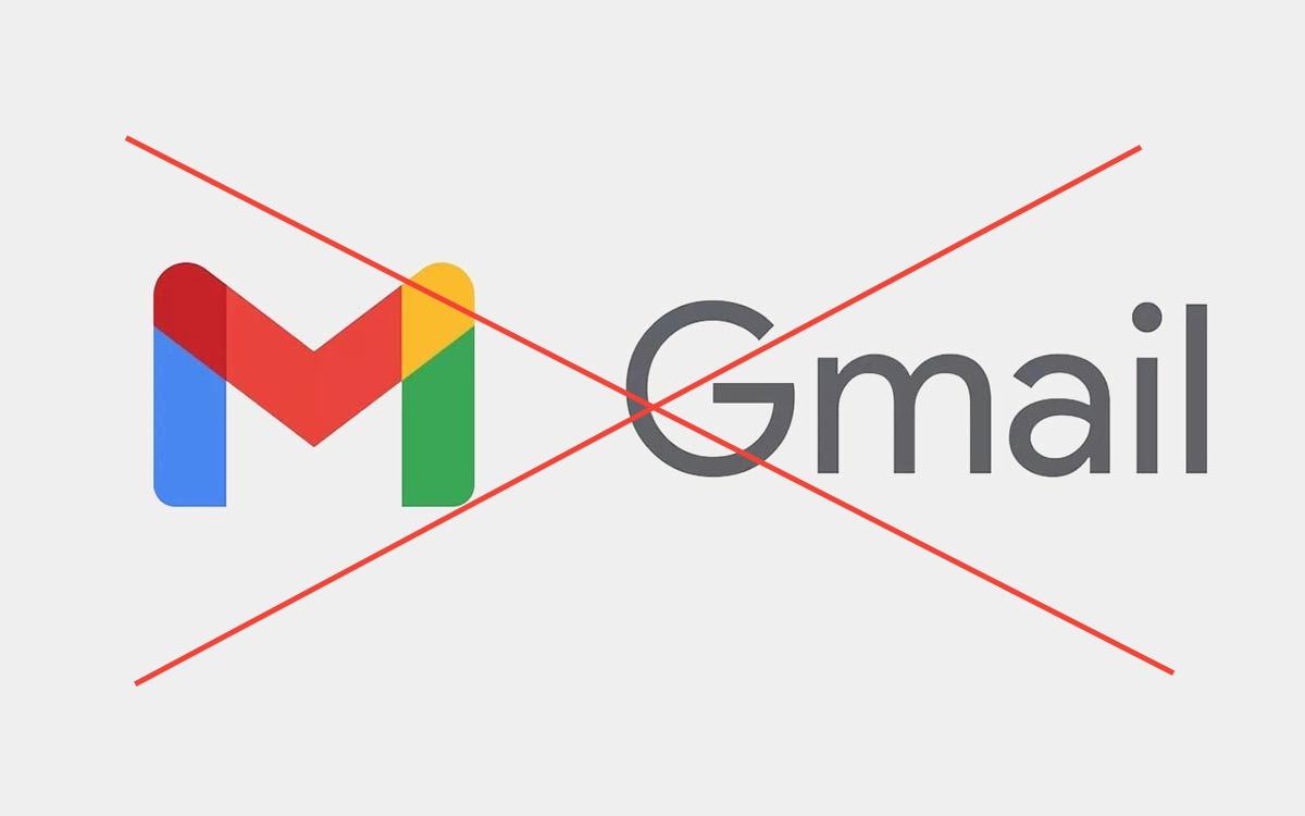 Suppression compte Gmail