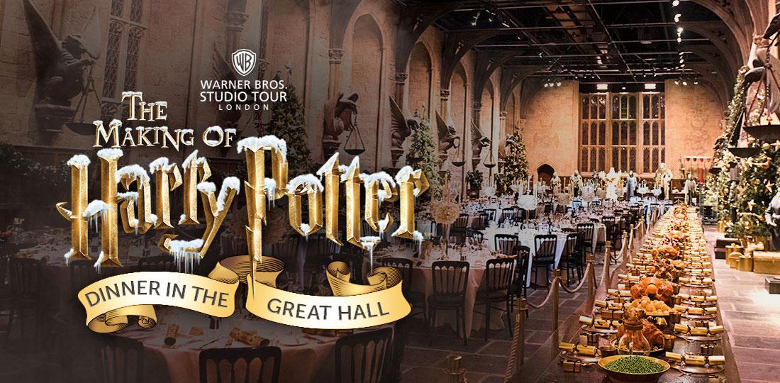 harry potter studios repas noel