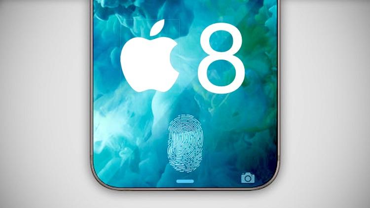 iPhone 8 : il aurait un écran TouchID selon un nouveau brevet Apple