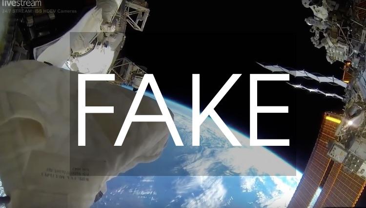 """ISS : la vidéo """"en direct"""" diffuse en réalité des images d'archive !"""