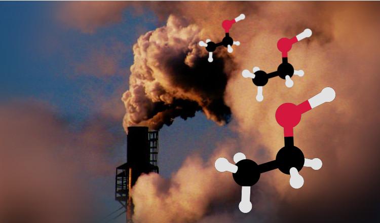 Le CO2 est facile à transformer en alcool, une bonne nouvelle pour la planète