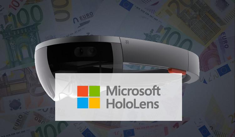 """Microsoft Hololens sort en France pour 3.299 euros """"à peine"""" !"""