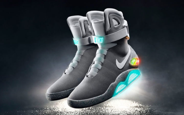 Les Nike Air MAG de Retour vers le Futur vendues aux enchères, maintenant !