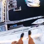 Ce youtubeur saute de 40 mètres dans l'eau et frôle la mort