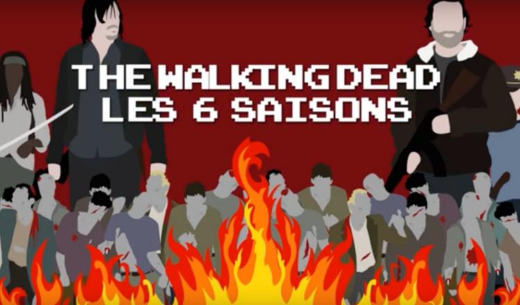 the walking dead   rattrapez 6 saisons en 13mn avec ce r u00e9sum u00e9 vid u00e9o hyper efficace