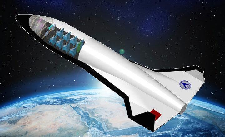 """Tourisme spatial : la chine veut construire son propre """"avion"""" de l'espace"""