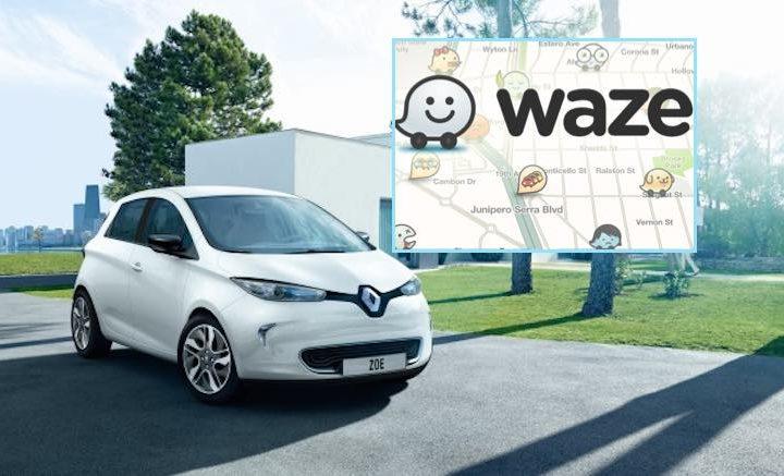 Waze va bientôt débarquer dans l'ordinateur de bord des Renault