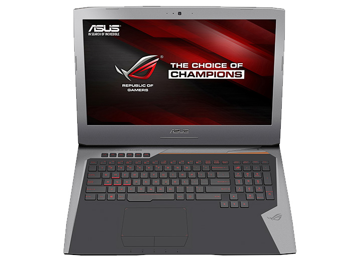 asus rog g701vi pc gamer