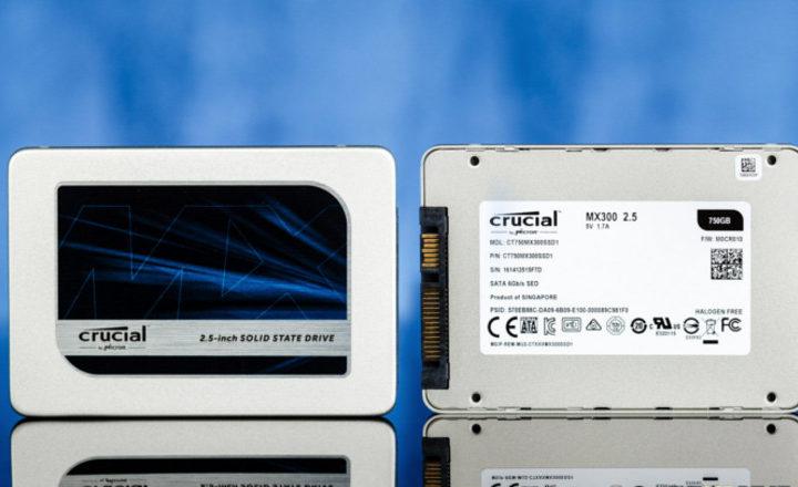 Black Friday Amazon : SSD interne SATA 2.5″ Crucial MX300 750 Go à 185€
