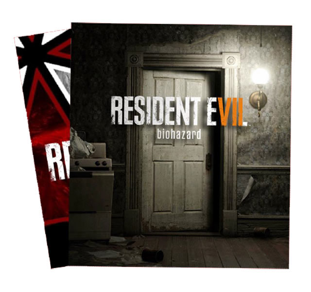 collector resident evil 7 jaquette