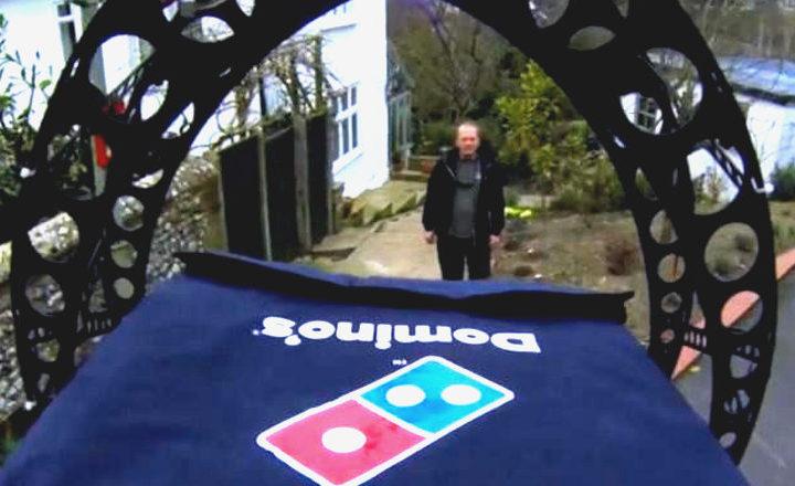 Domino's commence à livrer ses pizzas avec des drones