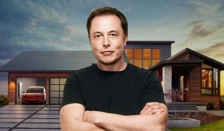 Elon musk veut rendre les panneaux solaires moins chers for Tuiles les moins cheres