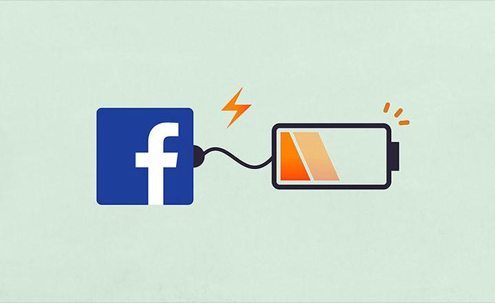 facebook batterie smartphone