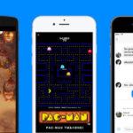 facebook messenger jeu pacman