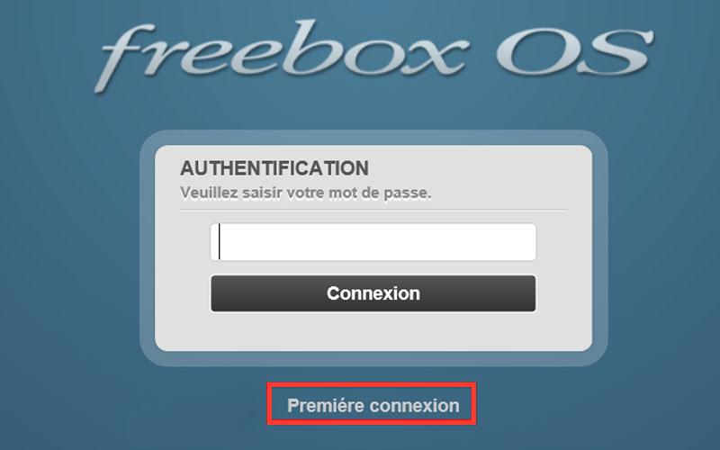 freebox première connexion