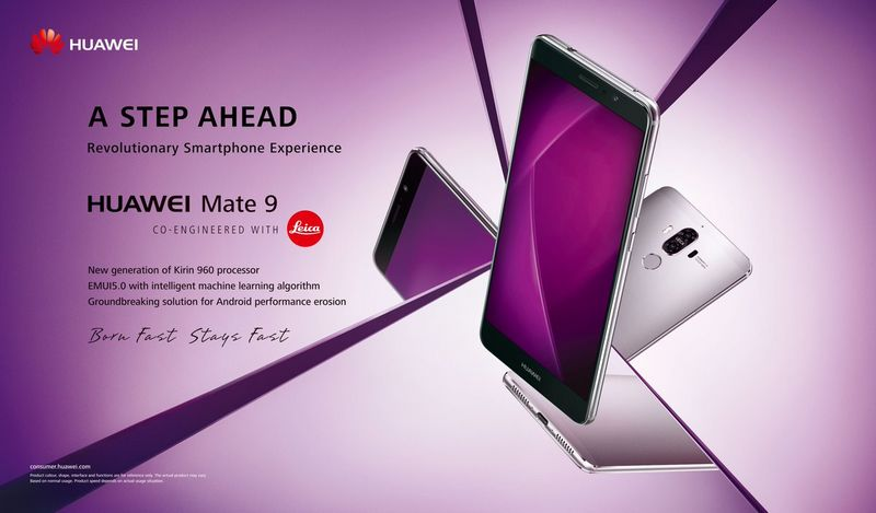 huawei mate 9 officiel