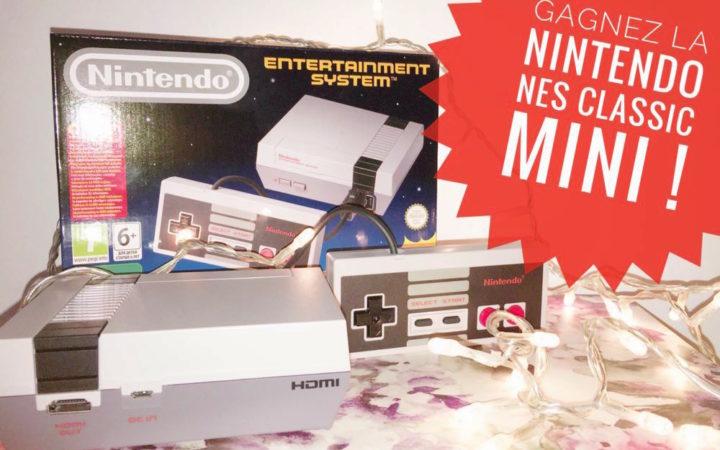 [Résultats] Concours Papergeek : gagnez une Nintendo NES Classic Mini !