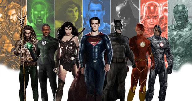justice league photo tournage