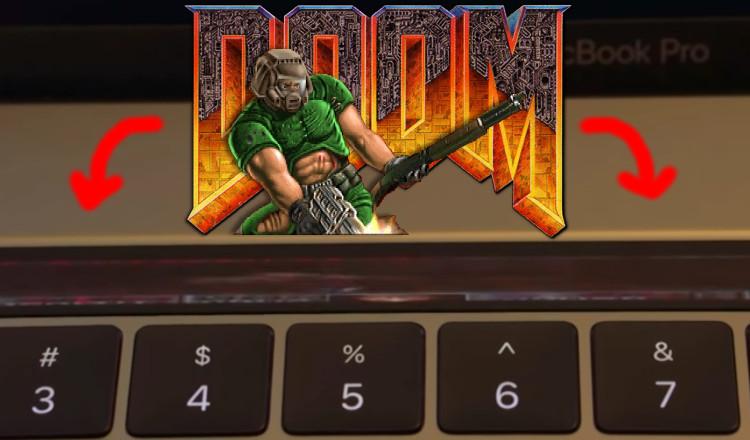 MacBook Pro 2016 : jouer à Doom sur la Touch Bar, c'est possible !