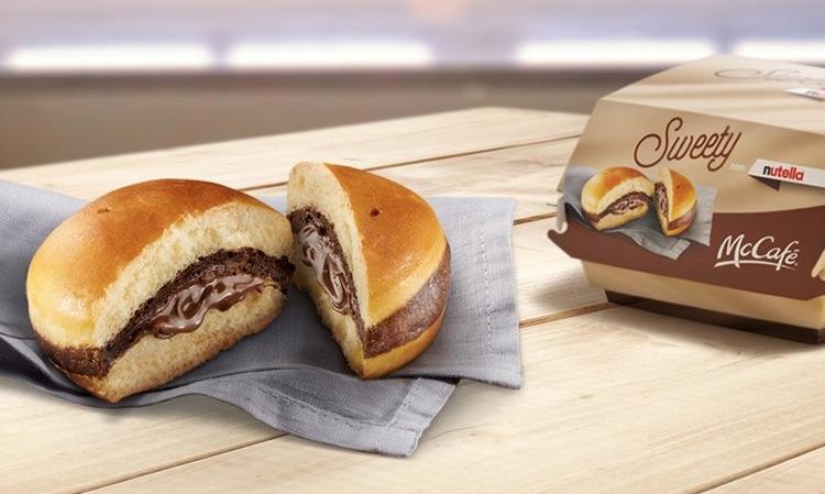 McDonald's propose un nouveau burger au Nutella dans ses restaurants italiens