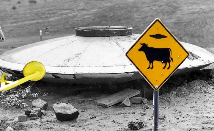 """Mettre les OVNIS """"à la fourrière"""" en cas de survol : un village a tout prévu !"""