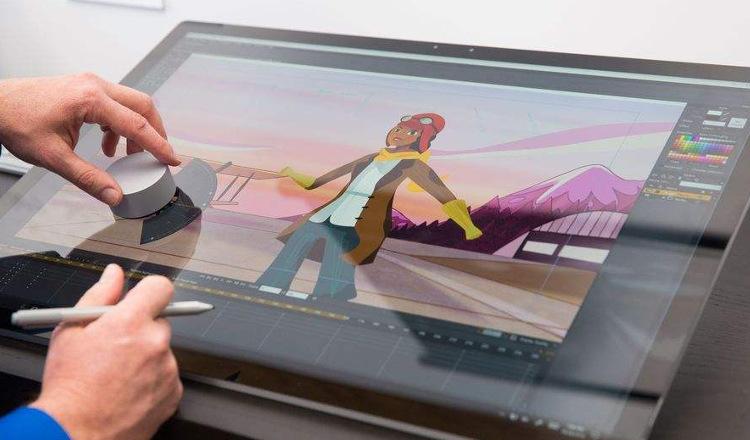 Microsoft Surface Studio : 6 vidéos pour le voir en action avec le Dial