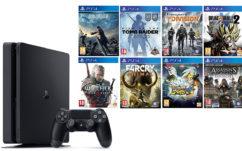 Black Friday Amazon et Cdiscount : PS4 Slim 500 Go + 8 jeux à 399€