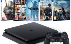 Black Friday Amazon : Pack PS4 500 Go + 5 jeux à 349€ !