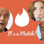 """Tinder s'invite dans la primaire : allez-vous """"matcher"""" avec Juppé, NKM et Sarkozy ?"""