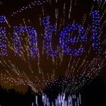 Record du monde : Intel fait voler 500 drones lumineux et c'est magnifique