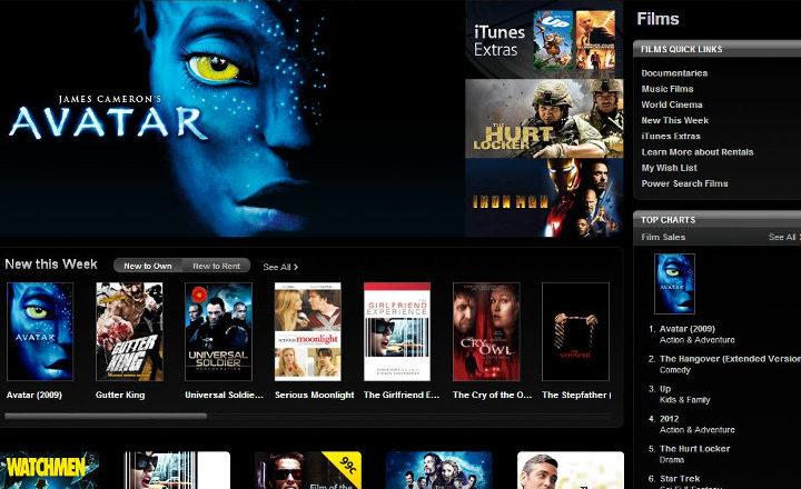 iTunes : Apple pourrait bientôt proposer des films qui sont encore au cinéma
