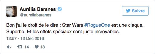 aurelia baranes avis twitter star wars rogue one